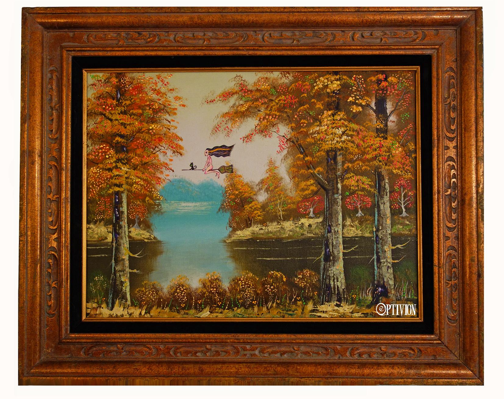 OptivioN - Autumn Has Shotgun Oil Painting