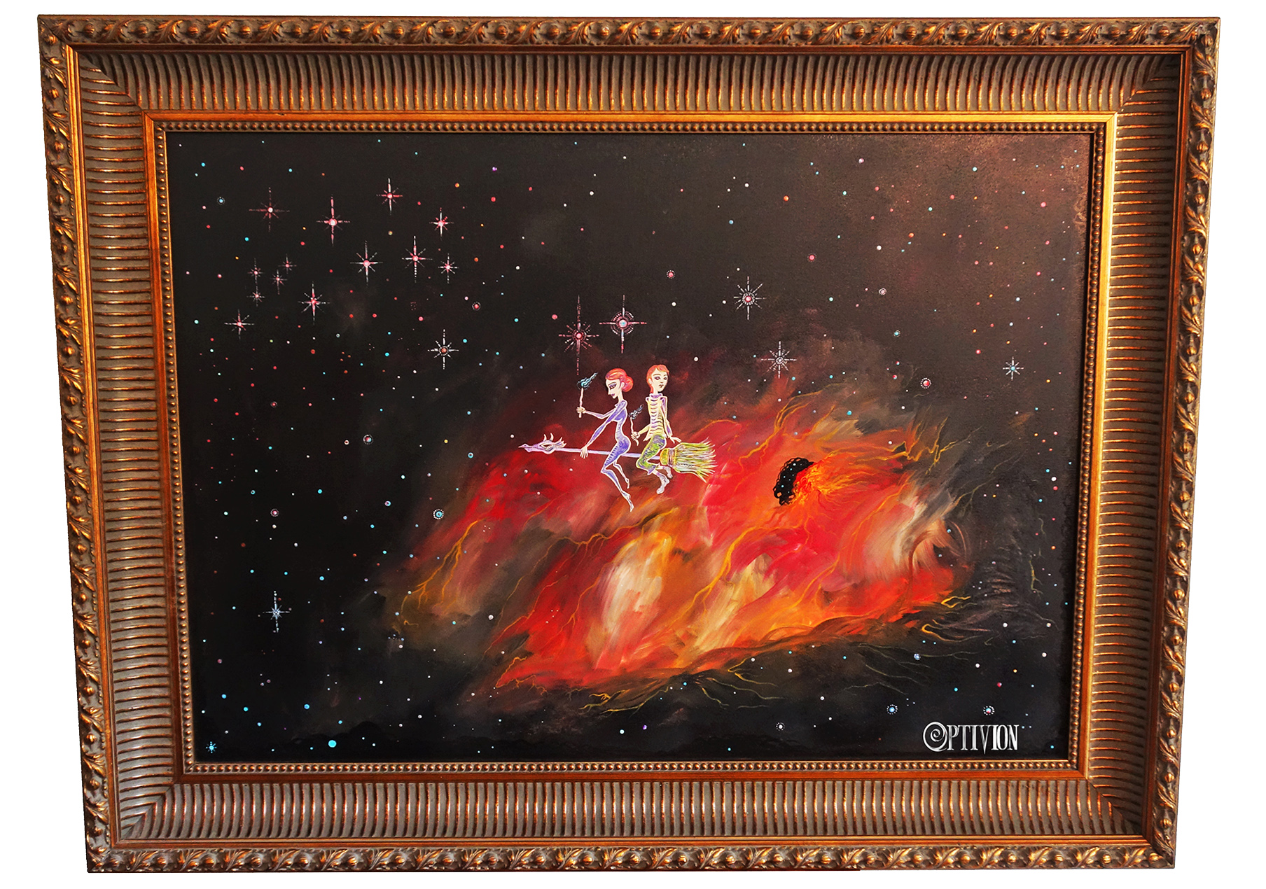 OptivioN - Bonding Through The Nebula