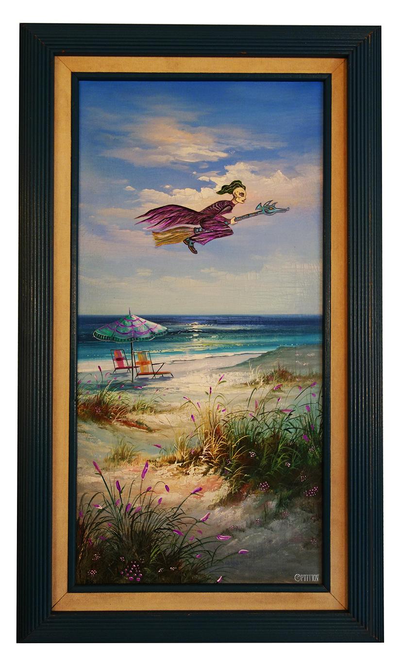 OptivioN - Trespass Beach Painting