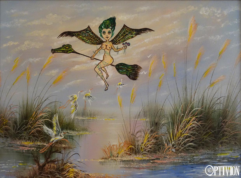 optivion - tropical witch art