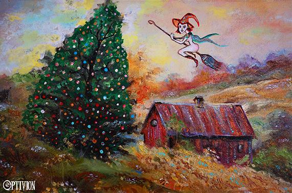 optivion - Wilderness Lodge Christmas artwork